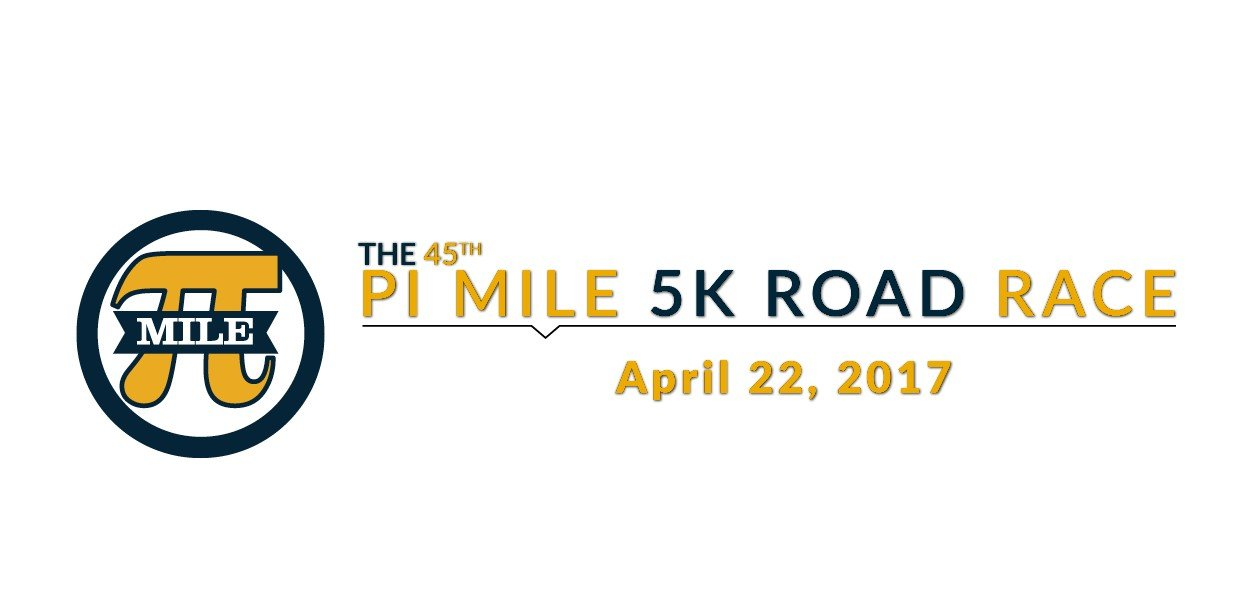 Save the date for the 45th Pi Mile Road Race.