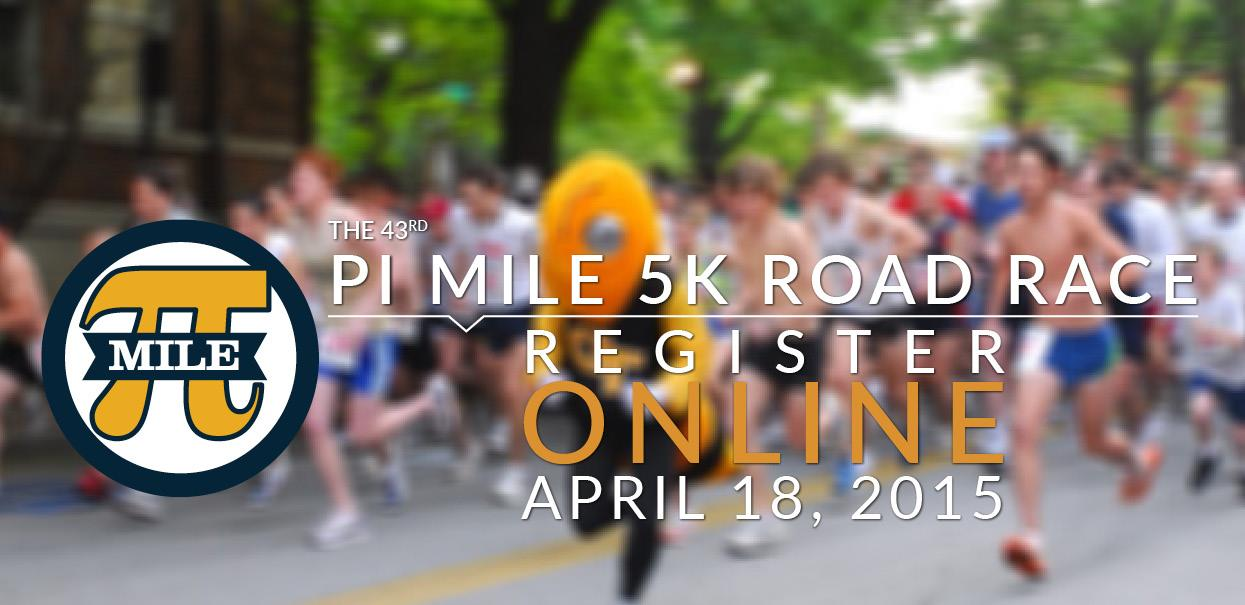 Save the date for the 2015 PiMile Road Race