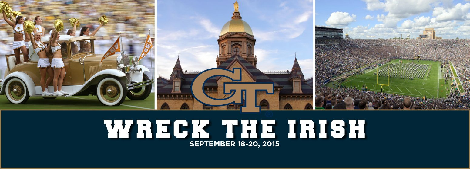 Join us for a special weekend at Notre Dame