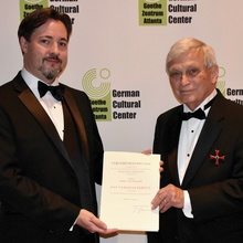 Spurlock Honored By German Government
