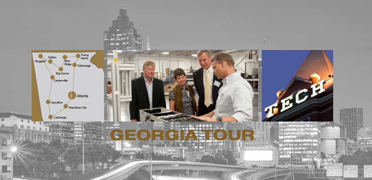 Meet President Peterson during his annual tour of Georgia