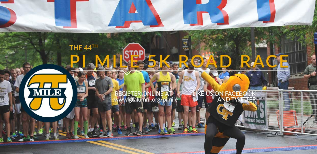 Register for the 44th Annual Pi Mile Road Race