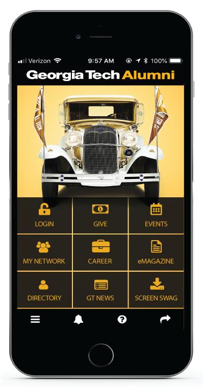 Georgia Tech Alumni Association - Download the App