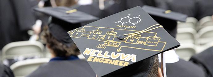 Georgia Tech Alumni Association Grad Cap Decorating Contest